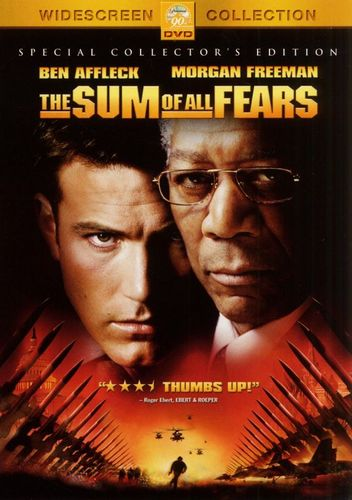 The Sum of All Fears [DVD] [2002] 4763795