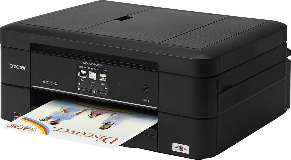 Brother MFC-J680DW Work Smart Series Wireless All-in-One Printer Black