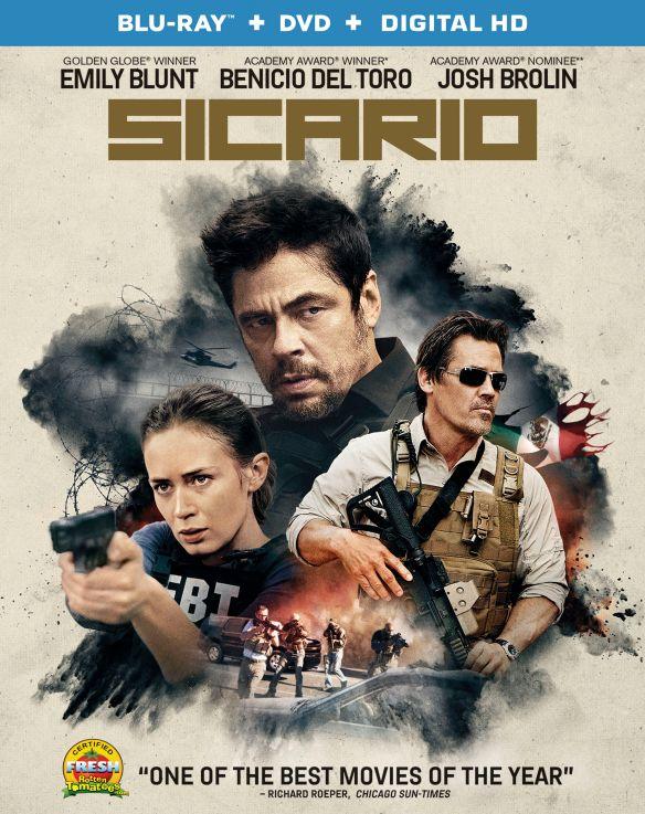 Sicario [Blu-ray/DVD] [2 Discs] [2015] 4766853