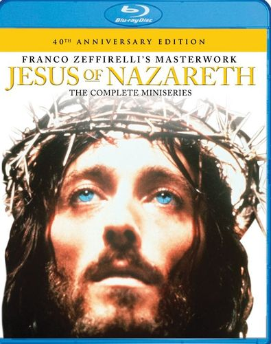 Jesus of Nazareth: The Complete Miniseries [40th Anniversary Edition] [Blu-ray] [1977] 4771501