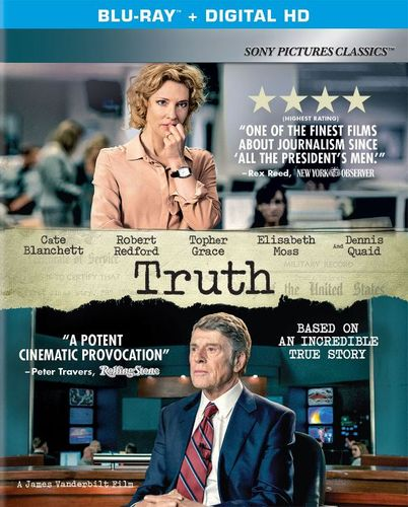 Truth [Includes Digital Copy] [UltraViolet] [Blu-ray] [2015] 4773723