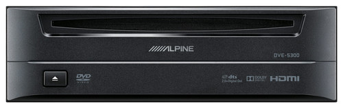 Alpine - Accessory DVD Player for LIMO Systems - Black