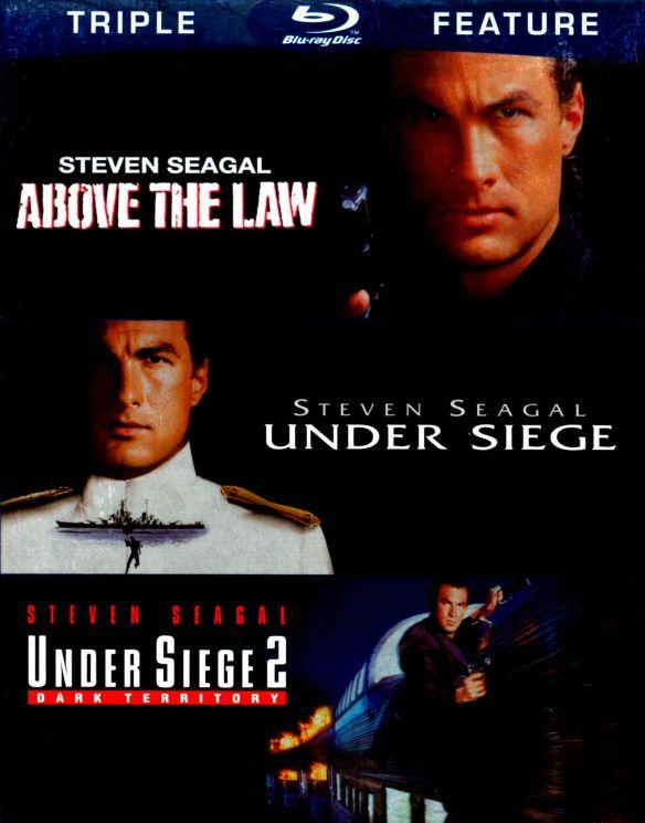 Above the Law/Under Siege/Under Siege 2 [3 Discs] [Blu-ray] 4775361