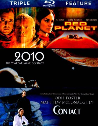 Red Planet/2010/Contact [3 Discs] [Blu-ray] 4775389