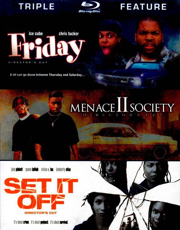 Friday/Menace II Society/Set It Off [3 Discs] [Blu-ray] 4775403