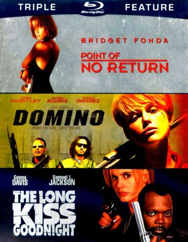 Point of No Return/Domino/The Long Kiss Goodnight [3 Discs] [Blu-ray] 4775412