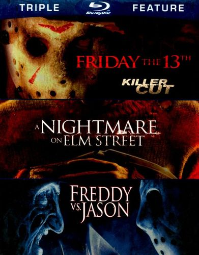 Friday the 13th/Nightmare on Elm Street/Freddy vs. Jason [3 Discs] [Blu-ray] 4775421