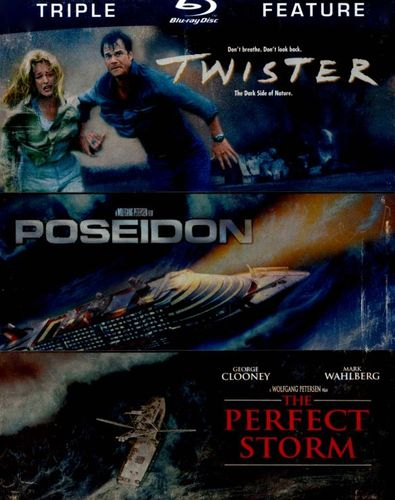 Twister/Poseidon/The Perfect Storm [3 Discs] [Blu-ray] 4775494