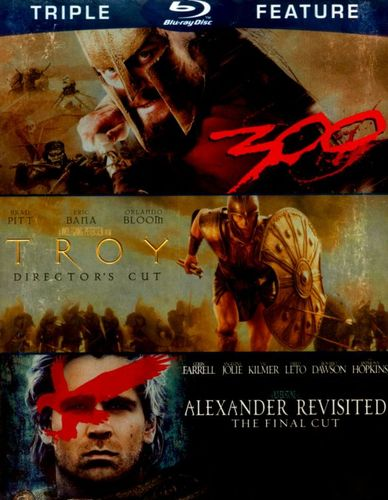 Alexander Revisted/Troy/300 [3 Discs] [Blu-ray] 4775528