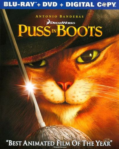 Puss in Boots [Blu-ray/DVD] [Includes Digital Copy] [2011] 4775634