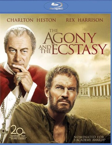 The Agony and the Ecstasy [Blu-ray] [1965] 4777305