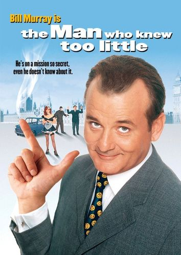 The Man Who Knew Too Little [DVD] [1997] 4777306