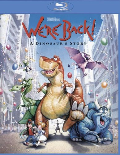 We're Back! A Dinosaur's Story [Blu-ray] [1993] 4780201