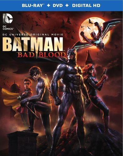 Batman: Bad Blood [Includes Digital Copy] [UltraViolet] [Blu-ray/DVD] [2 Discs] [2016] 4782022