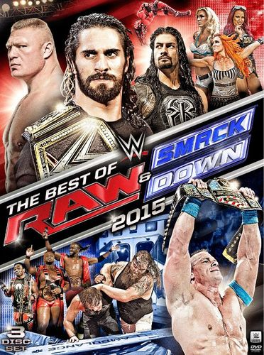 WWE: The Best of Raw and Smackdown 2015 [DVD] [2015] 4782046