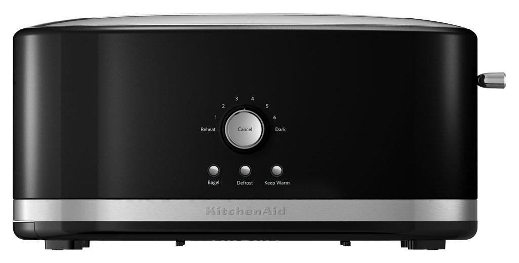 KitchenAid KMT4116OB 4-Slice Wide-Slot Toaster Onyx Black
