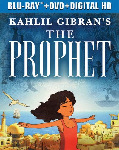 Kahlil Gibran's The Prophet [Includes Digital Copy] [UltraViolet] [Blu-ray/DVD] [2 Discs] [2014] 4788501