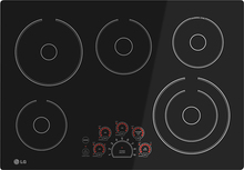 "LG LCE3010SB 30"" Built-In Electric Cooktop Black"