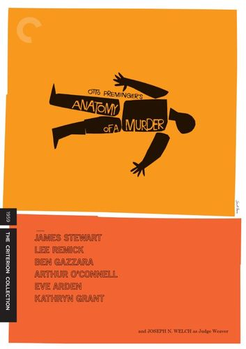 Anatomy of a Murder [Criterion Collection] [Blu-ray] [1959] 4790384