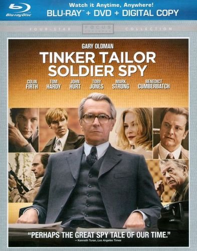 Tinker, Tailor, Soldier, Spy [2 Discs] [Includes Digital Copy] [UltraViolet] [Blu-ray/DVD] [2011] 4790802