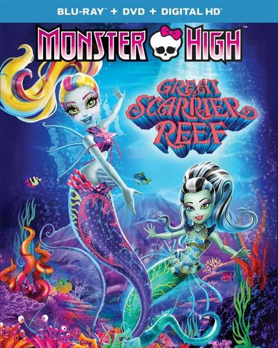 Monster High: Great Scarrier Reef [Blu-ray/DVD] [2 Discs] 4798301