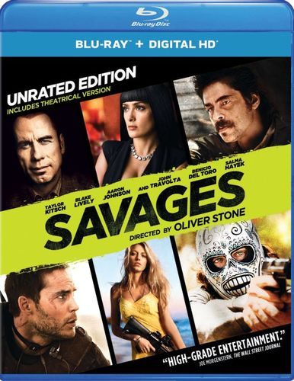Savages [Includes Digital Copy] [UltraViolet] [Blu-ray] [2012] 4798309