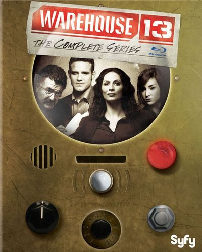 Warehouse 13: The Complete Series [Blu-ray] [15 Discs] 4798323