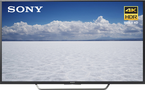 "Sony - 49"" Class (48.5"" Diag.) - LED - 2160p - Smart - 4K Ultra HD TV - Black"