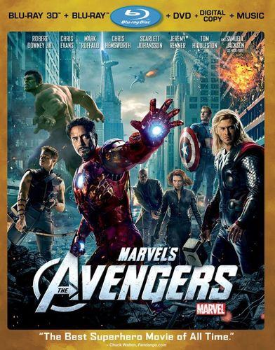 Marvel's The Avengers [4 Discs] [Includes Digital Copy] [3D] [Blu-ray/DVD] [Blu-ray/Blu-ray 3D/DVD] [2012] 4802116