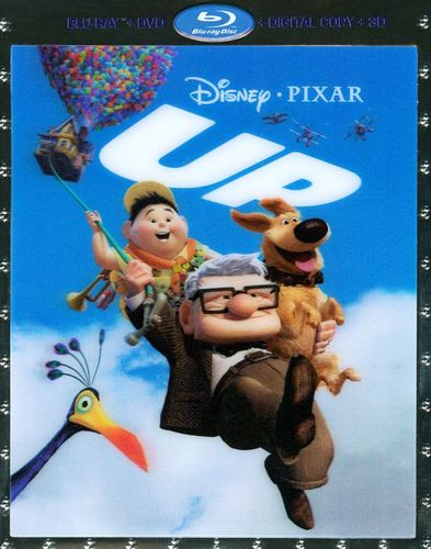Up [5 Discs] [Includes Digital Copy] [3D] [Blu-ray/DVD] [Blu-ray/Blu-ray 3D/DVD] [2009] 4802123