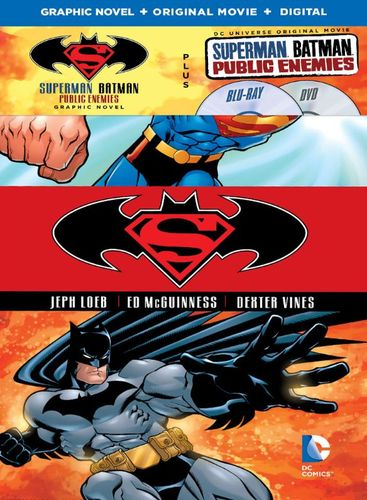 Superman/Batman: Public Enemies [Includes Graphic Novel] [Includes Digital Copy] [Blu-ray/DVD] [2009] 4802704