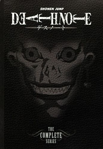 Death Note: The Complete Series [9 Discs] [DVD] 4802709