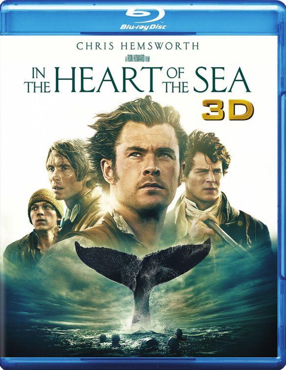 In the Heart of the Sea [3D] [Blu-ray/DVD] [3 Discs] [Blu-ray/Blu-ray 3D/DVD] [2015] 4802714