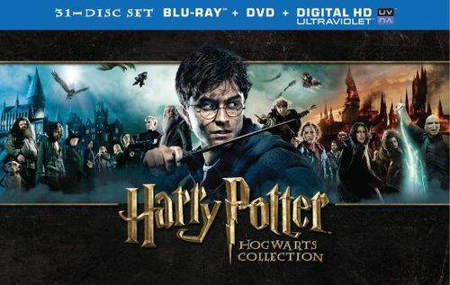 Harry Potter: Hogwarts Collection [31 Discs] [Includes Digital Copy] [UltraViolet] [Blu-ray/DVD] 4802716