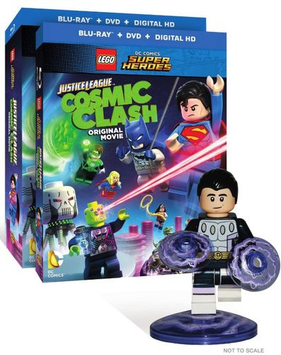 LEGO DC Comics Super Heroes: Justice League - Cosmic Clash [With Figurine] [DVD/Blu-ray] [2 Discs] [Blu-ray/DVD] 4802718