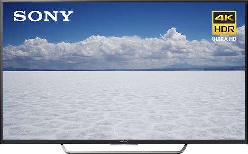 "Sony - 55"" Class (54.6"" Diag.) - LED - 2160p - Smart - 4K Ultra HD TV - Black"
