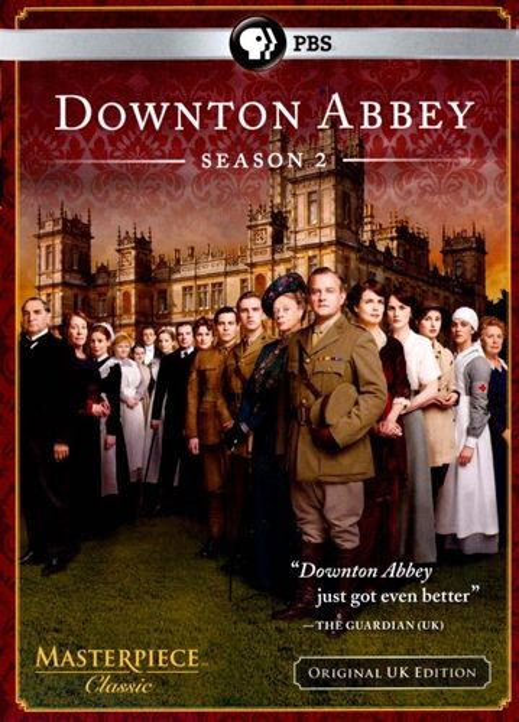 Masterpiece Classic: Downton Abbey - Season 2 [3 Discs] [DVD] 4810421
