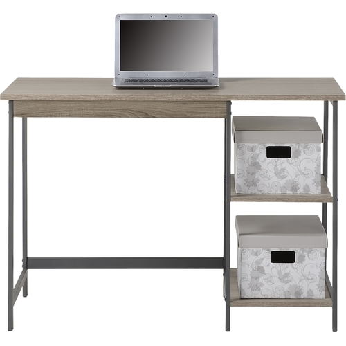 Homestar - Laptop Desk with Bookcase - Reclaimed Wood