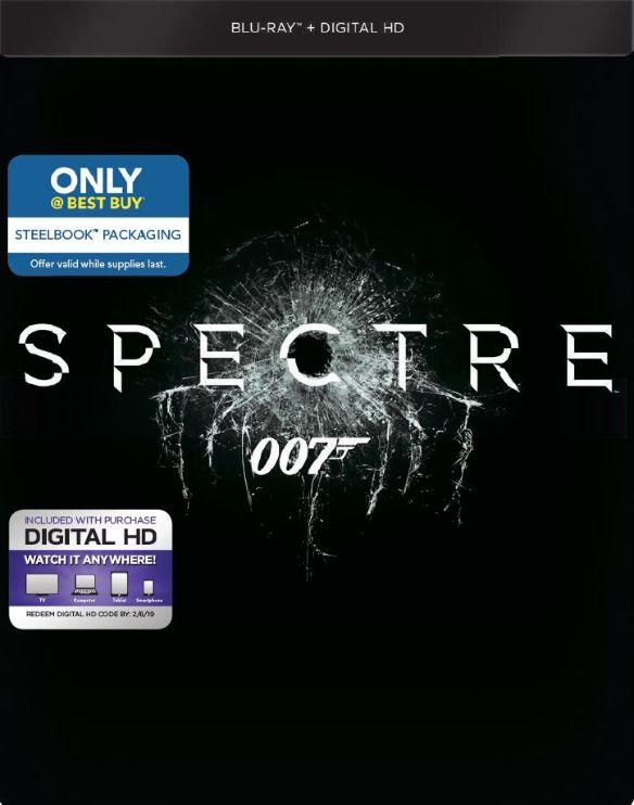 Spectre [Includes Digital Copy] [Blu-ray] [SteelBook] [2015] 4817102