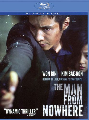 Man from Nowhere [2 Discs] [Blu-ray/DVD] [2010] 4817937