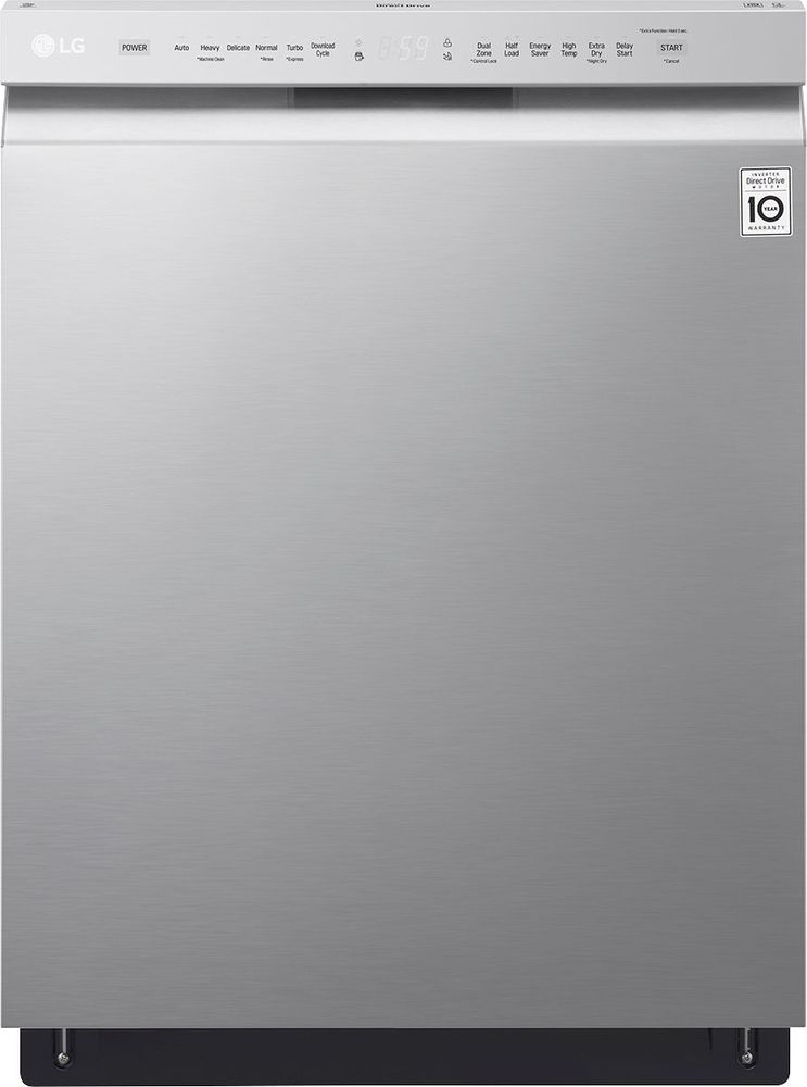 """LG 24"""" Built-In Dishwasher Stainless steel LDF5545ST"""