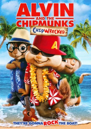Alvin and the Chipmunks: Chipwrecked [DVD] [2011] 4826808