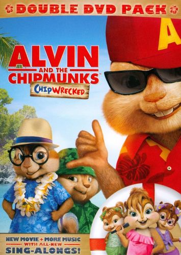 Alvin and the Chipmunks: Chipwrecked [2 Discs] [DVD] [2011] 4826844