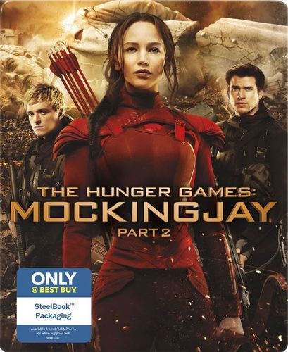 The Hunger Games: Mockingjay, Part 2 [Blu-ray/DVD] [SteelBook] [Only @ Best Buy] [2015] 4827603