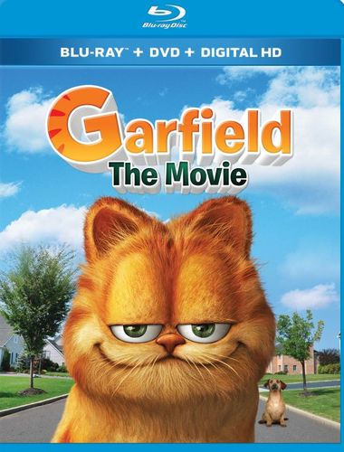 Garfield: The Movie [Blu-ray/DVD] [2 Discs] [2004] 4829202