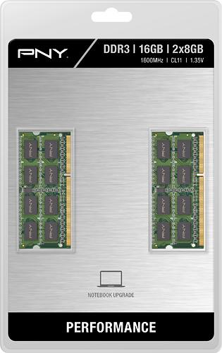PNY - 16 GB (2PK x 8GB)...
