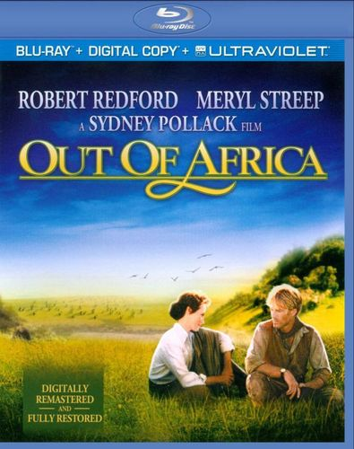 Out of Africa [Includes Digital Copy] [UltraViolet] [Blu-ray] [1985] 4830802