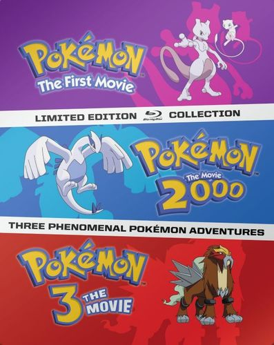 Pokemon Movies 1-3 [SteelBook] [Blu-ray] 4832702