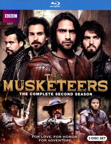 The Musketeers: Season Two [3 Discs] [Blu-ray] 4833036