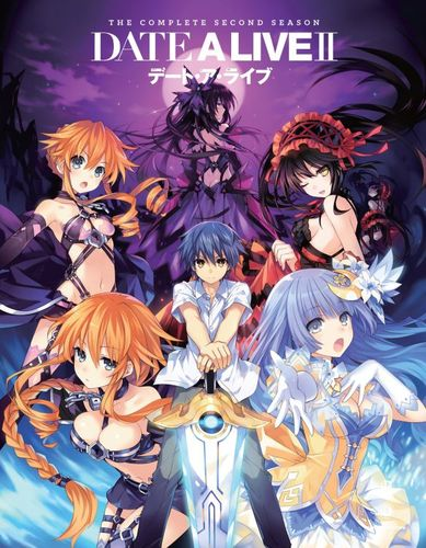 Date A Live II: Season Two [Blu-ray/DVD] [4 Discs] 4837605